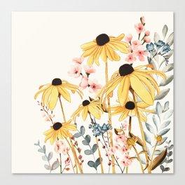Summer Flowers Leinwanddruck