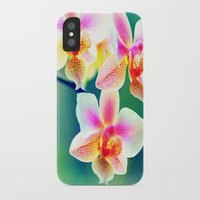 orchid iPhone & iPod Cases featuring orchid by haroulita