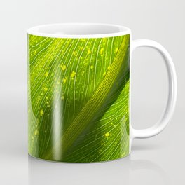 Spotted Leaf Coffee Mug