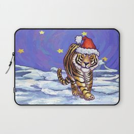 Tiger Christmas Laptop Sleeve