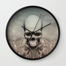 Dead eagle Wall Clock