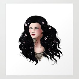 Once Upon A Time - Snow White Art Print
