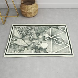 Crystalize / Art / Stippling / Abstract Art / Drawing Rug