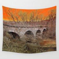 virginia Wall Tapestries featuring Virginia Bridge by Andooga Design