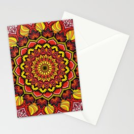 Mandala Passione Stationery Cards