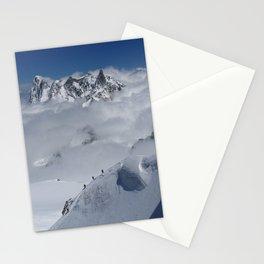 Aiguille du Midi, Cloud Walkers Stationery Cards