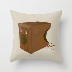 Chocolate Brownie Throw Pillow