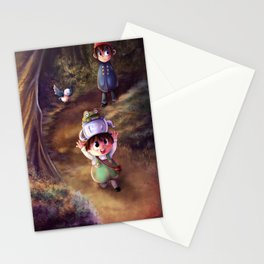 Over the Garden Wall Stationery Cards