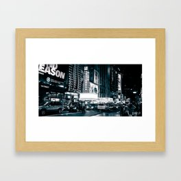 Film Noir, Friday Night Framed Art Print