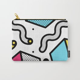 Memphis Pop-art Pattern II Carry-All Pouch