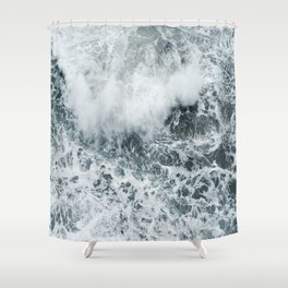 Crashing Shower Curtain