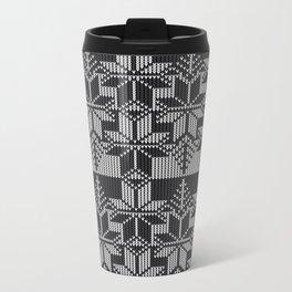 Winter knit Travel Mug