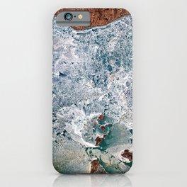 Lake Erie Islands in winter iPhone Case