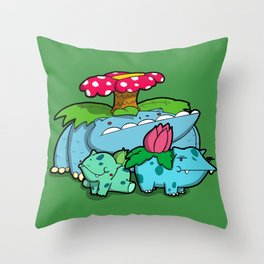 Pokémon - Number 1, 2 & 3 Throw Pillow