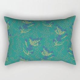 Forget Me Not Dot Rectangular Pillow