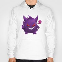 gengar Hoodies featuring Gengar by bonniviwii