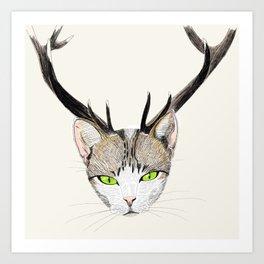 Catelope Art Print