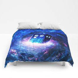 Tardis Doctor Who Vortex Comforters