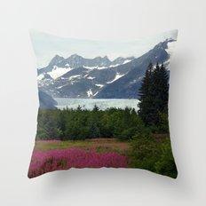 Juneau, Alaska Throw Pillow