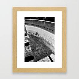 The Ride Framed Art Print
