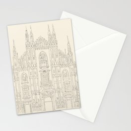 Cathedral of Milan Stationery Cards