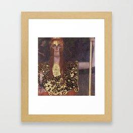 Pallas Athene Framed Art Print
