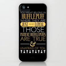 Hufflepuff iPhone (5, 5s) Slim Case