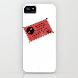 Last night on earth iPhone Case
