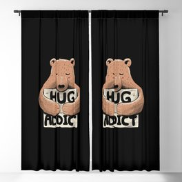 Hug Addict Blackout Curtain