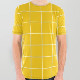 Sunshine Grid All Over Graphic Tee