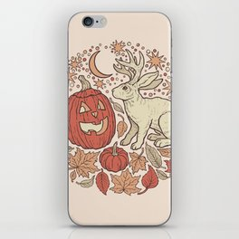 Halloween Friends | Autumn Palette iPhone Skin