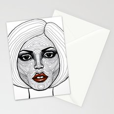 Face Analysis Stationery Cards