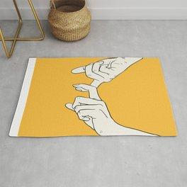 HANDS 5 Rug