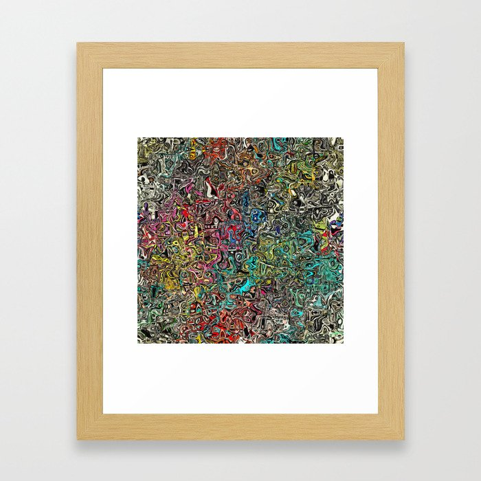 Abstract SQ Framed Art Print