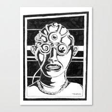 Mr. K - Mugshot Canvas Print