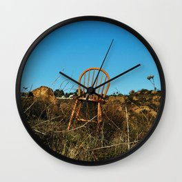 lonely chair Wall Clock