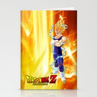 dragonball Stationery Cards featuring Vegeta Dragonball Z best idea by customgift
