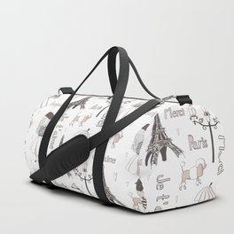 Paris Girl Duffle Bag