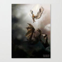 Arch Angel Michael  Canvas Print
