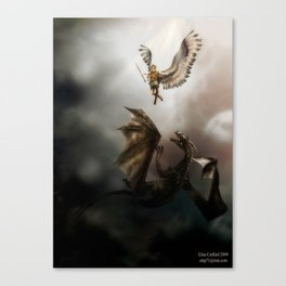 Arch Angel Michael  Canvas Print