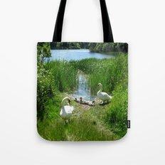 Bosherston Lily Ponds.Pembrokeshire.Wales. Tote Bag