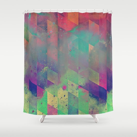 byby vy Shower Curtain