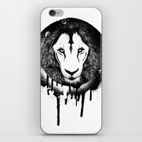grafitti iPhone & iPod Skins featuring Hodari Grafitti by a little Piece of Pie