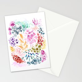 cornelia. watercolor florals. Stationery Cards