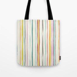 love stripe Tote Bag