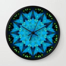 Mandala Source of light Wall Clock