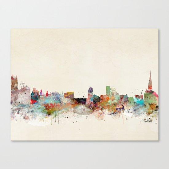 sheffield united kingdom Canvas Print