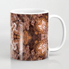 Goethite Druzy Quartz with a geometric kaleidoscopic design Coffee Mug