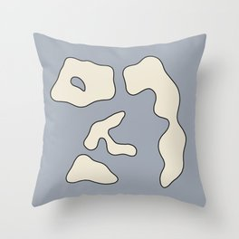Modern poster - Jean Hans Arp -Exposition 2. Throw Pillow