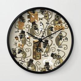 Monkey Magic Wall Clock